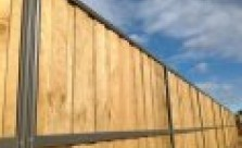 Modular Glass Installations Lap and Cap Timber Fencing Kwikfynd